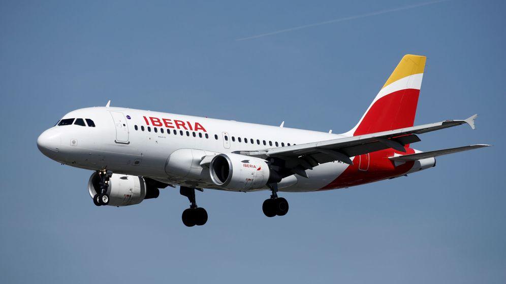 Foto: Avión de Iberia.