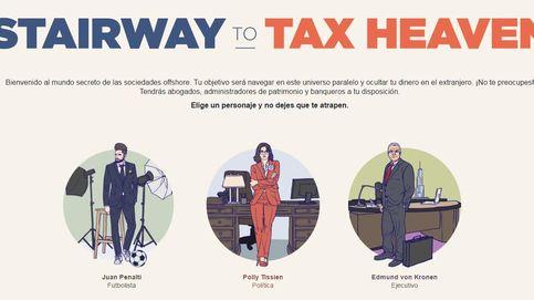 'Stairway to (tax) heaven': aprende a ocultar tu dinero en el extranjero