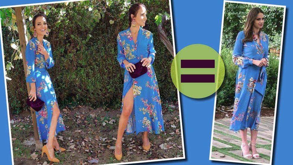 Eva González le 'copia' un modelito a Paula Echevarría (y no es la primera vez)
