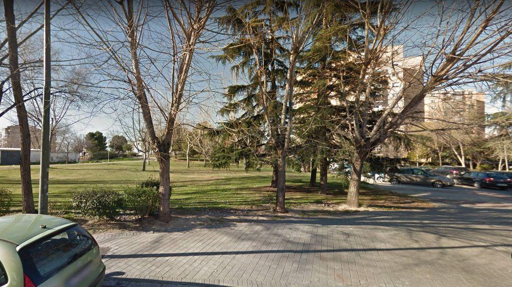 Foto: El parque de Madrid donde la mujer fue atacada cuando paseaba a sus perros (Foto: Google Maps)