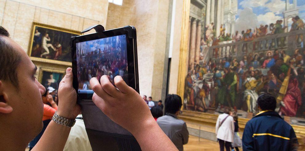 Foto: Usar la tableta como cámara no es una idea tan ridícula como parece