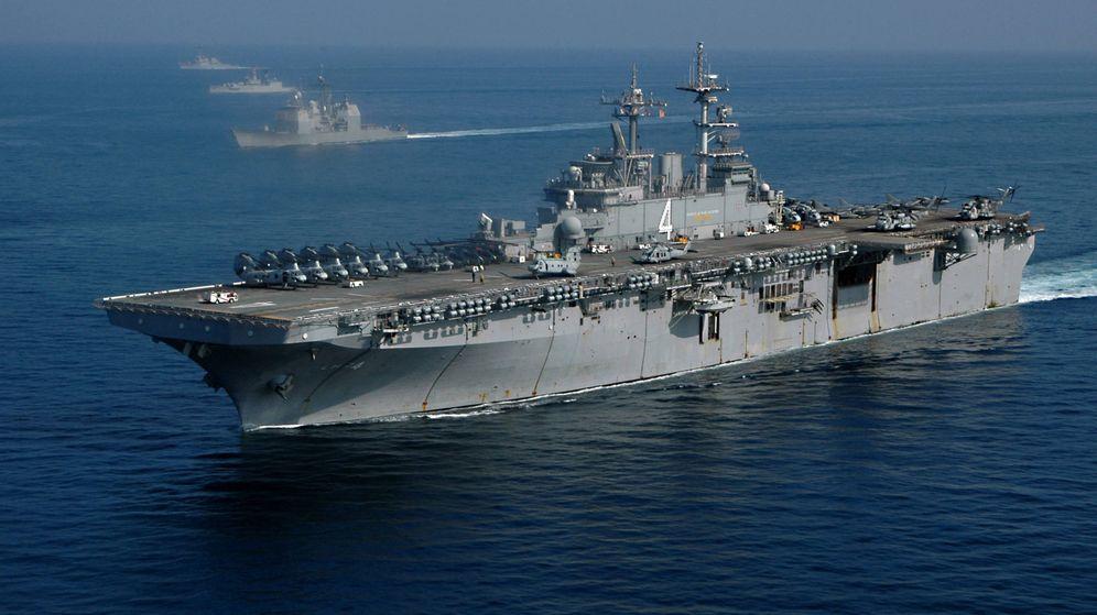 Foto: Uno de los LHD de la Armada estadounidense. (Foto: Wikipedia)
