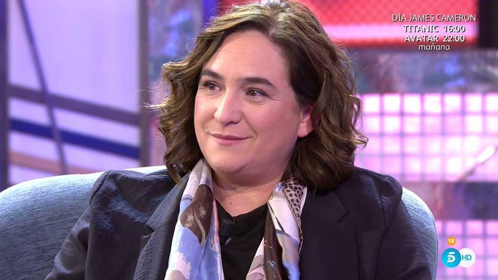 Foto: Ada Colau en 'Sábado Deluxe'.