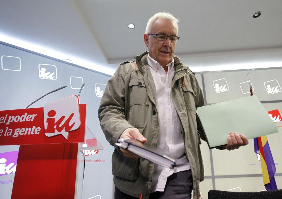 Foto:  El coordinador general de Izquierda Unida, Cayo Lara. (Efe)