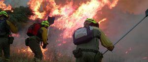 El mapa de riesgo de incendio forestal en España