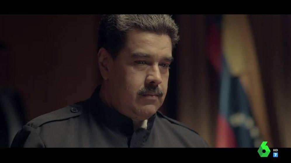 Foto: Nicolás Maduro en 'Salvados'.