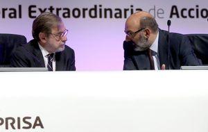 Telefónica y Mediaset no ejercitan el derecho de compra de acciones de Prisa