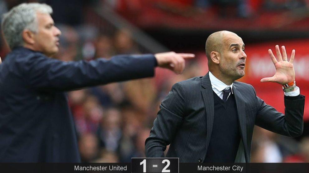 El City ya entiende la propuesta de Pep; el United no sabe la de Mourinho