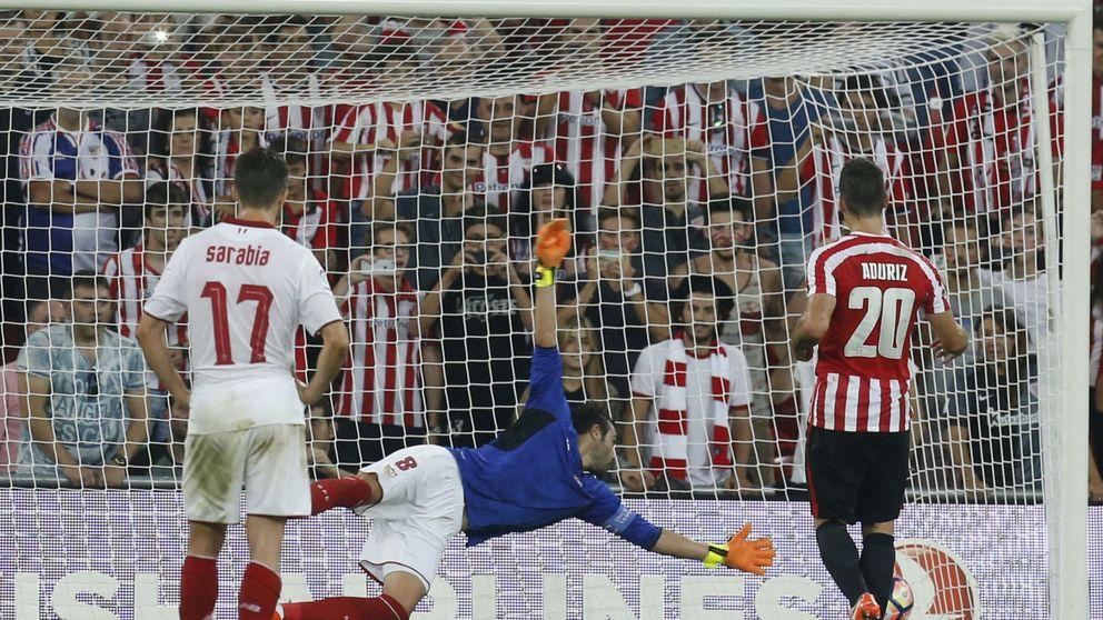 Y también juega de portero: por qué Iborra es el Superman del Sevilla