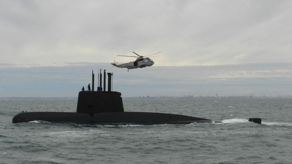 Argentina confirma que la mancha detectada no es del submarino