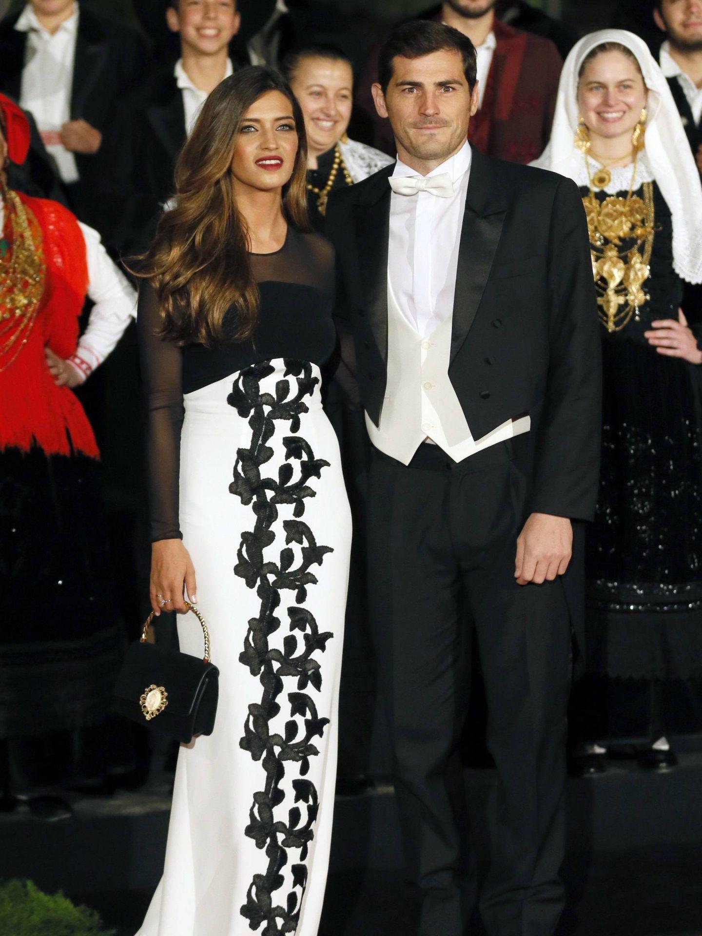 Sara Carbonero e Iker Casillas, en Portugal. (Cordon Press)