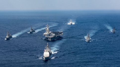 Estados Unidos envía buques de guerra a la península de Corea