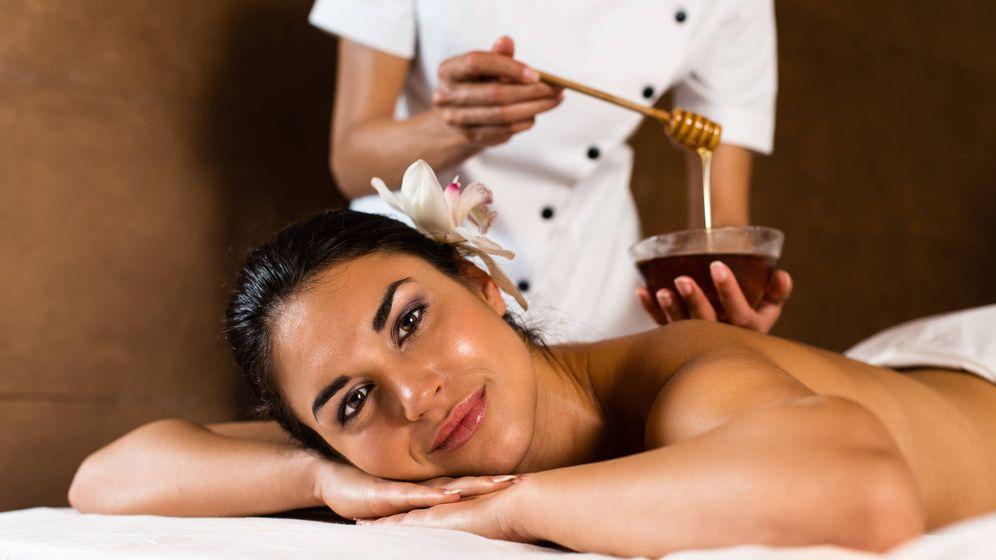 Foto: Masaje con miel. (iStock)