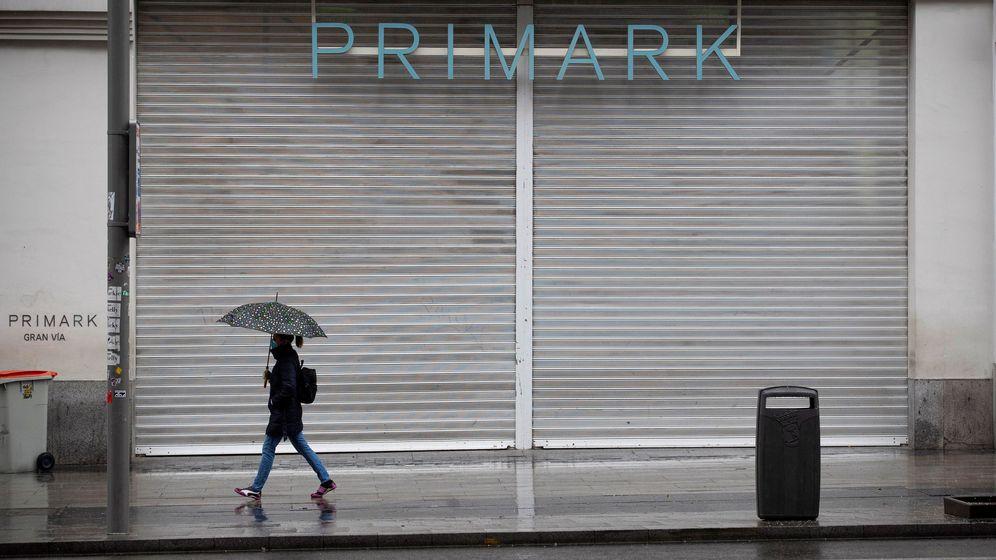 Foto: Tiendas cerradas en Madrid por el coronavirus. (Efe)