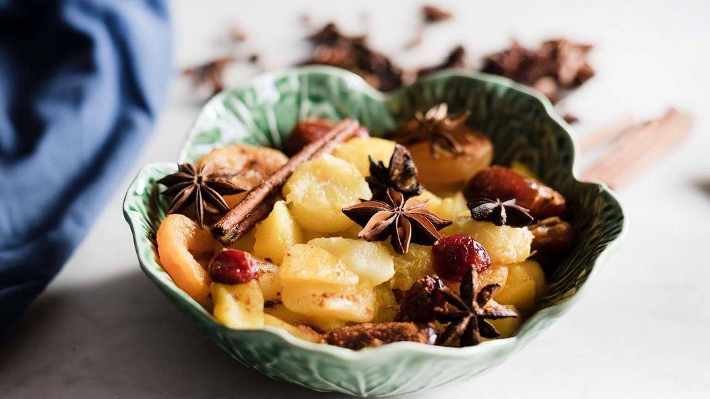 Foto: Compota de frutas de invierno.