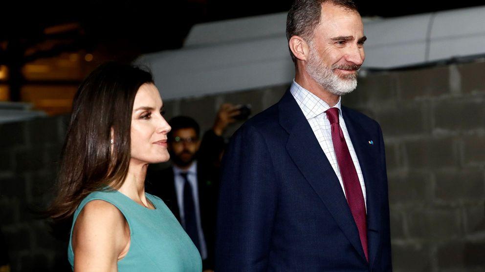De concierto y sin niñas: el domingo más privado de Felipe y Letizia