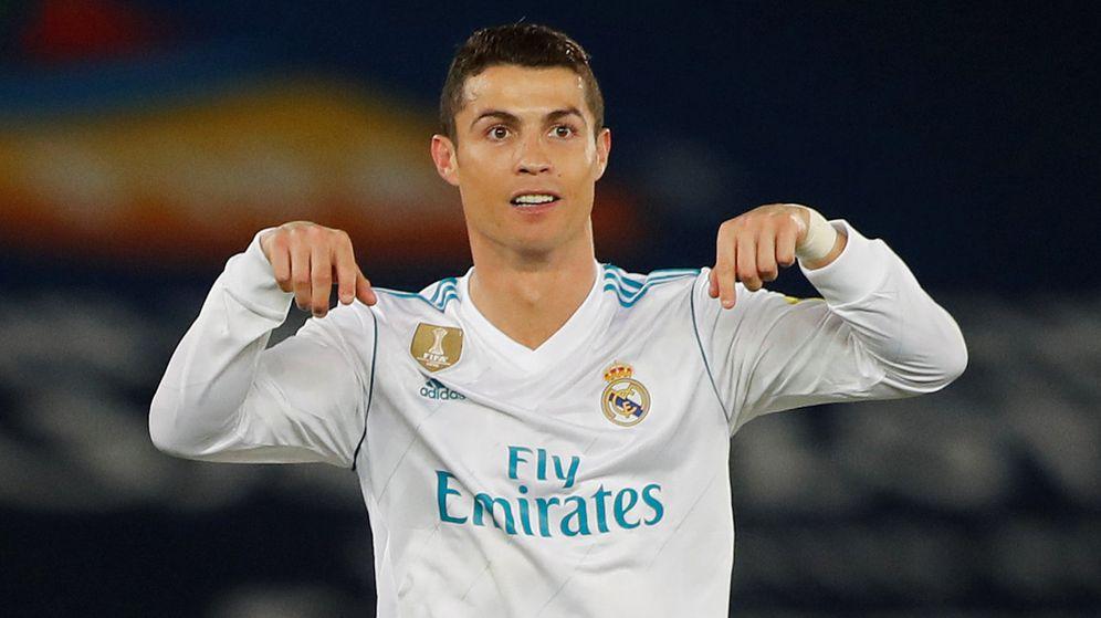 Foto: Cristiano Ronaldo celebra su gol en la final del Mundial de Clubes. (Reuters)