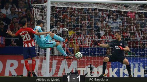 El Barça supera a última hora el muro del Atlético para sacar un punto en el Wanda