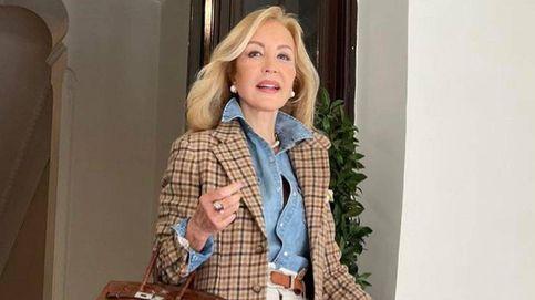 Carmen Lomana lo corrobora (y lo fichamos en Zara): el cuello de moda se lleva así