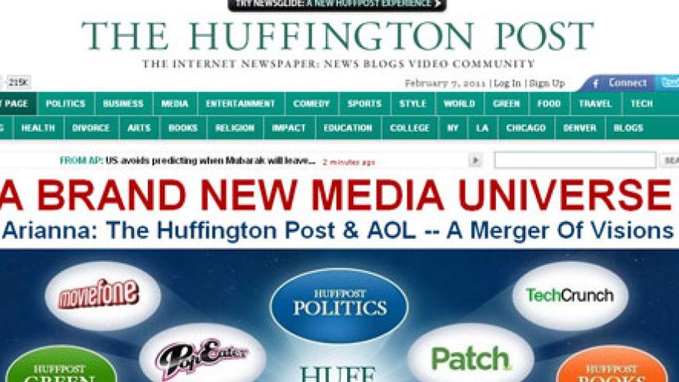AOL compra el sitio web 'The Huffington Post' por 231 millones de euros
