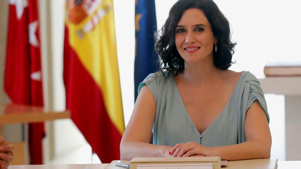 Foto: La presidenta de la Comunidad de Madrid. (EFE)
