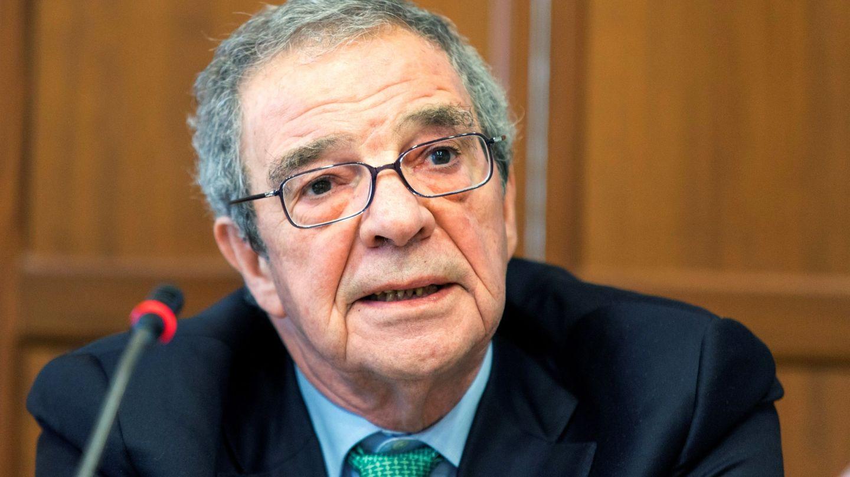 César Alierta, durante un curso sobre la lengua española en Santander. (EFE)