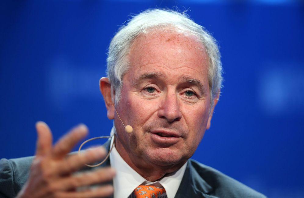 Foto: Stephen Schwarzman, CEO de Blackstone, el fondo con más propiedades en España. (Reuters)