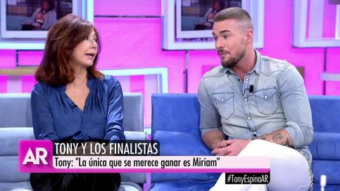 Ana Rosa condena un comentario ¿machista? de Tony Spina ('GH VIP') a una reportera