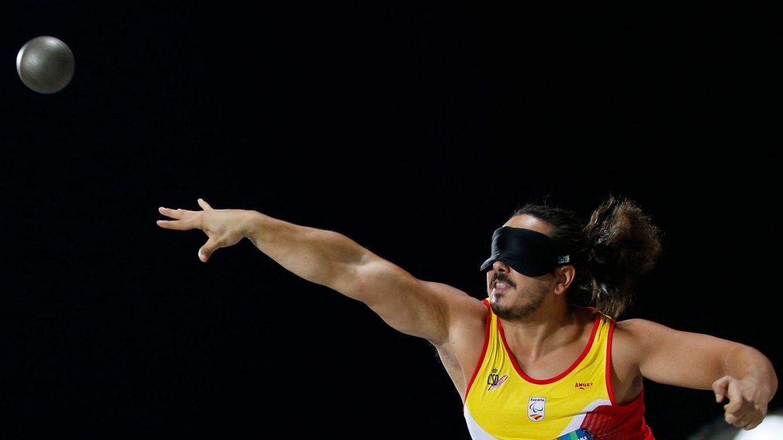 Foto: Álvaro del Amo Cano, representante español de lanzamiento en los Paralímpicos de Tokio 2020. (EFE)