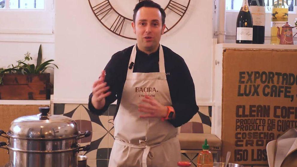Bocata de autor: Vicente de la Red, de Bacira, y su pan chino con pringá