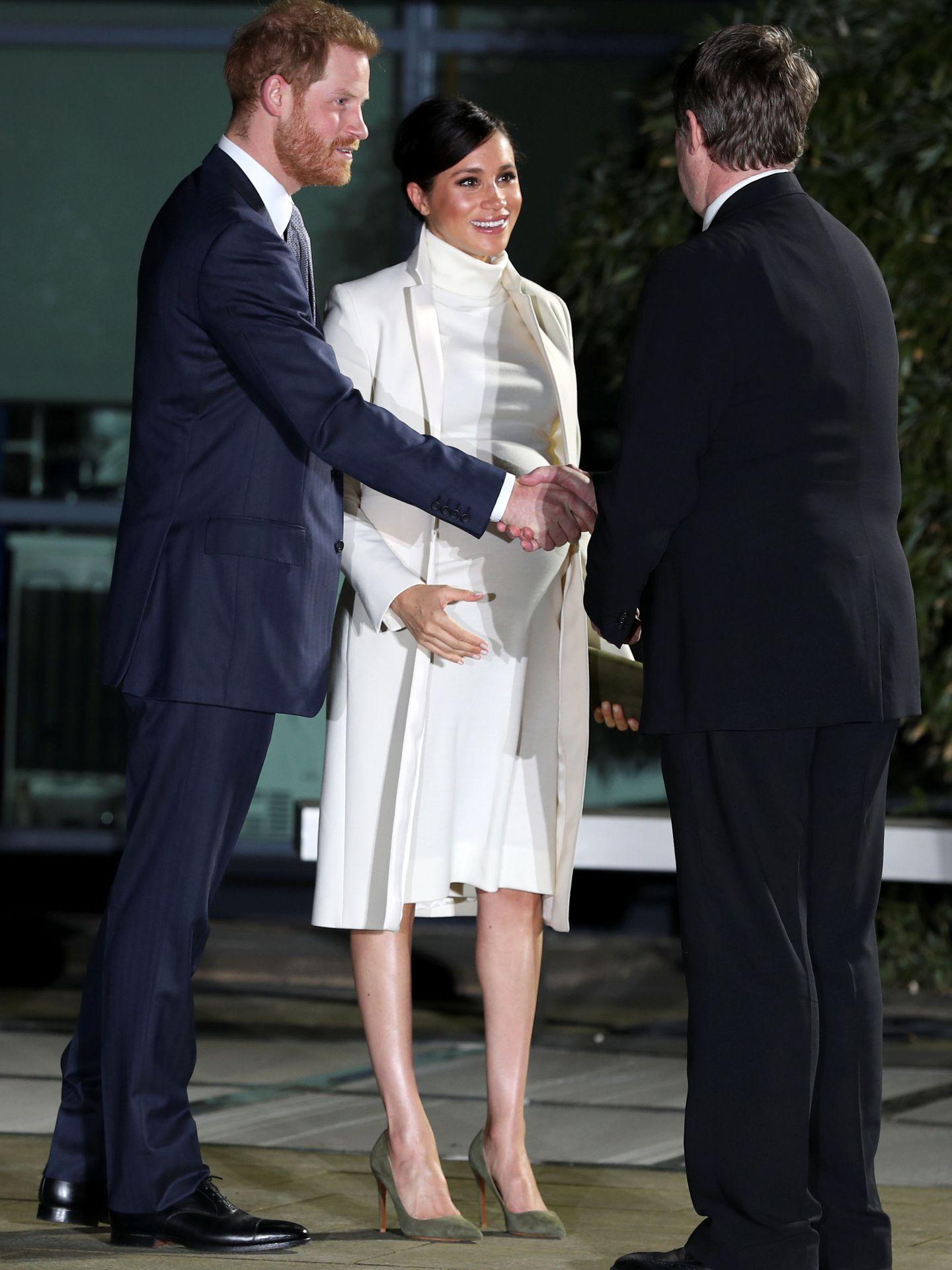 El príncipe Harry y Meghan Markle. (Getty)