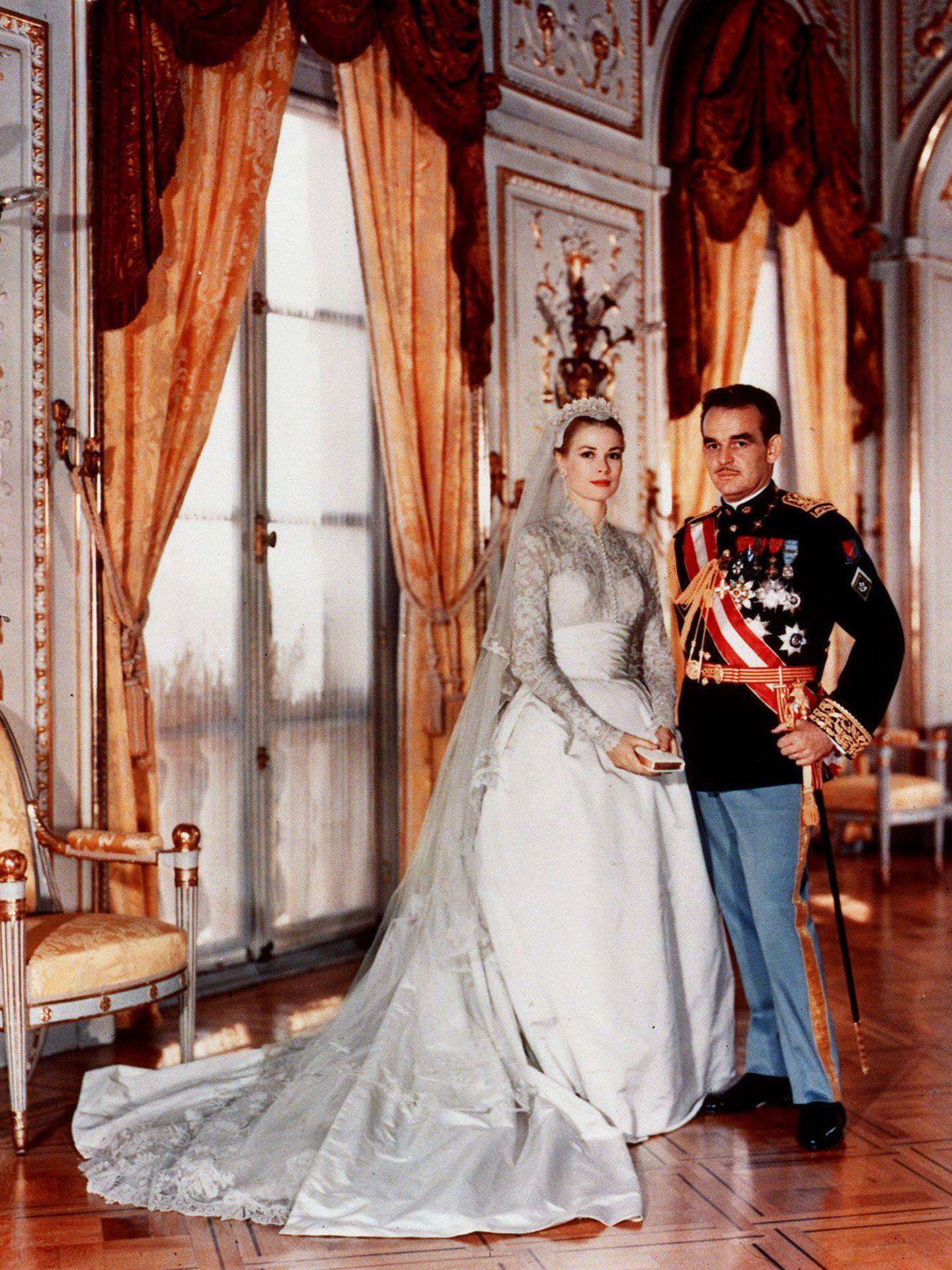 Grace Kelly y Raniero III. (Cordon Press)