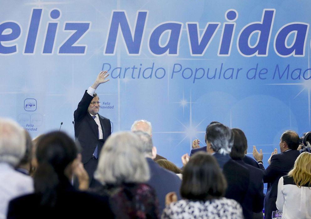 Foto: El presidente del Gobierno y del Partido Popular, Mariano Rajoy (EFE)