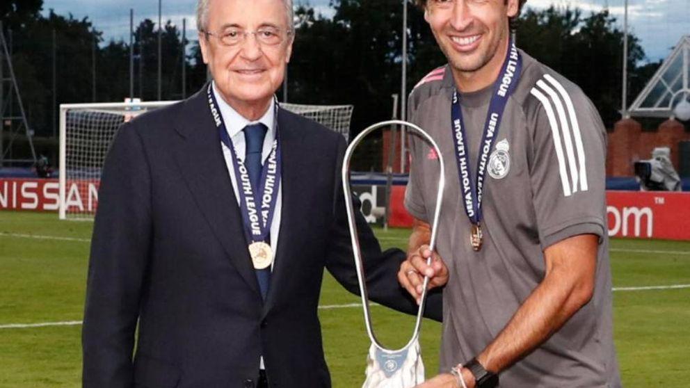 El Real Madrid vuelve a abrazar a Raúl y el modelo de cantera para combatir la crisis