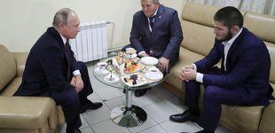 Post de La petición de Putin para que Khabib no sea castigado... por su padre