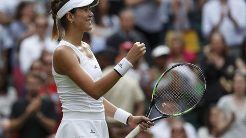 Siga en directo el partido de Wimbledon entre Garbiñe y Cepelova