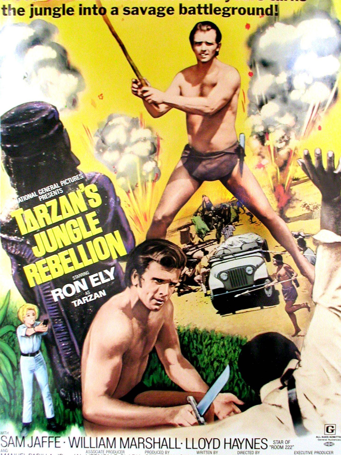 Cartel de una de las películas de Ron Ely. (Cordon Press)