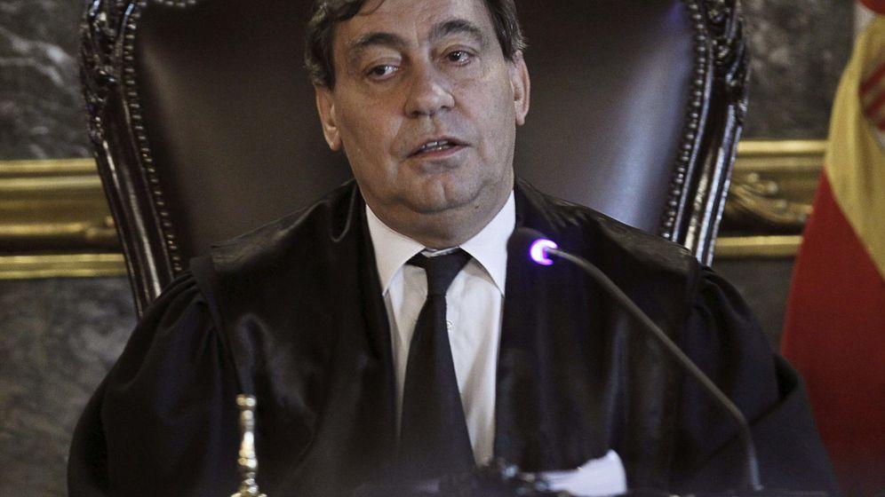 Foto: El magistrado Julián Sánchez Melgar, elegido para sustituir a José Manuel Maza al frente de la Fiscalía General del Estado. (EFE)