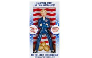 Una Hillary Clinton cascanueces
