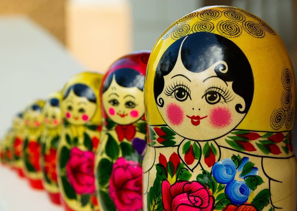 Foto: Matrioska o muñeca rusa. (Pixabay)
