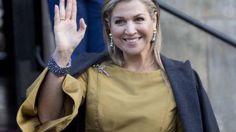 Máxima de Holanda reaparece por todo lo alto tras un mes 'escondida'