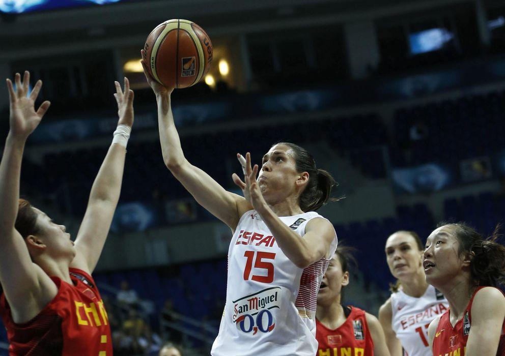 Foto: España no dio opción en ningún momento a su rival (EFE)
