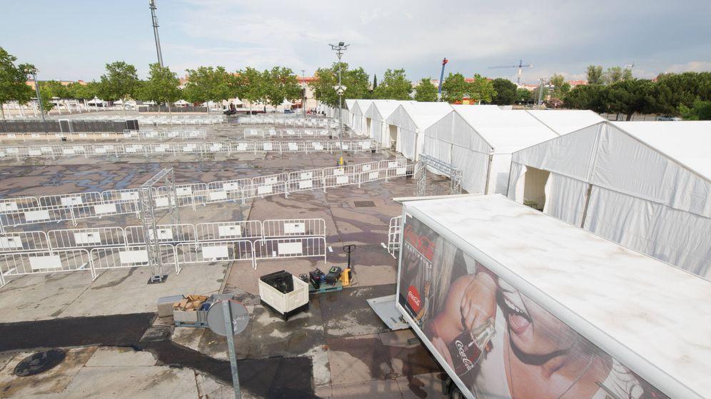 Foto: El recinto ferial de Torrejón de Ardoz acogerá el estudio de covid-19 más ambicioso de Europa. (David Brunat)
