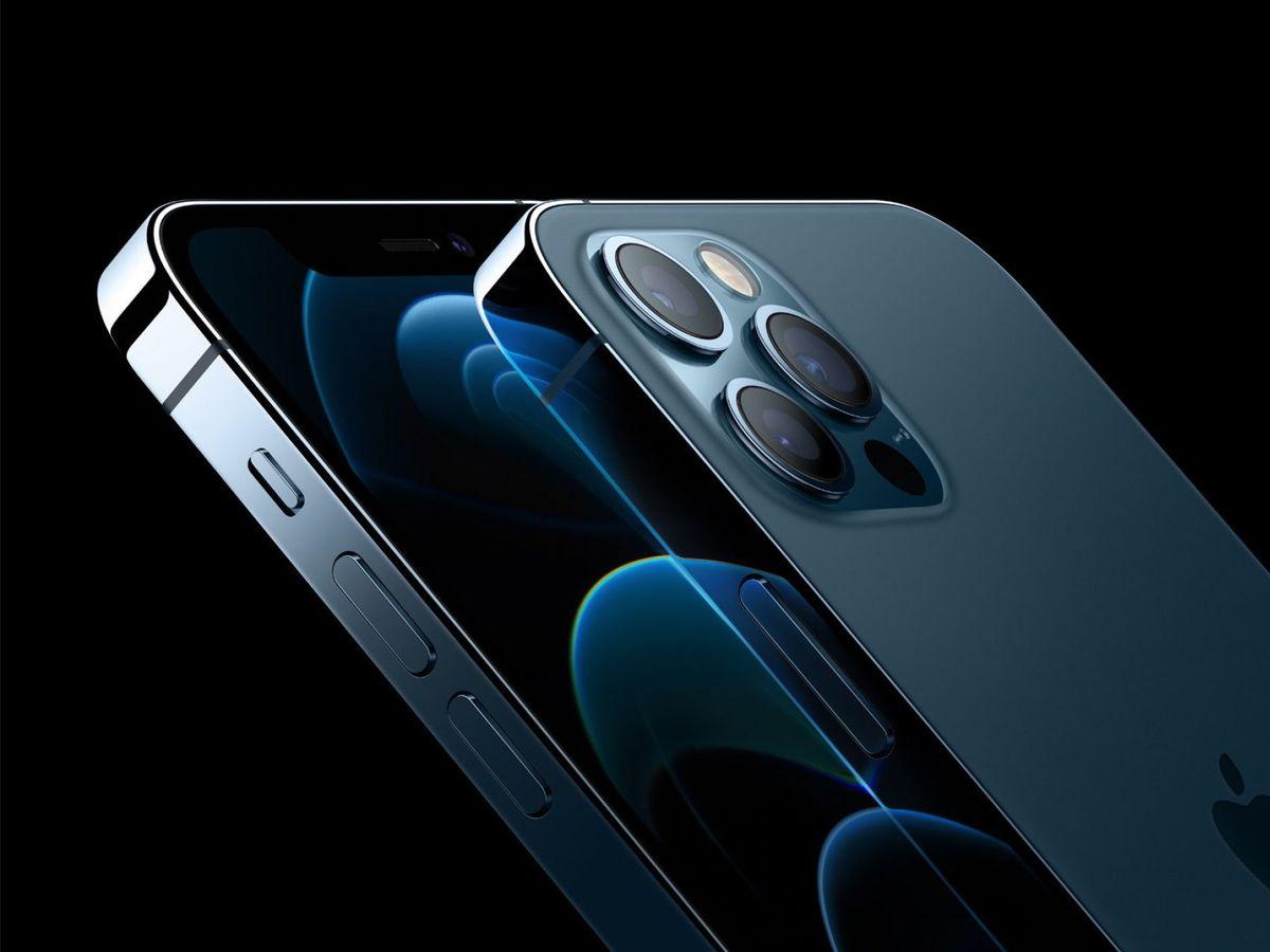 Foto: Imagen de la presentación del iPhone el año pasado. (EFE)