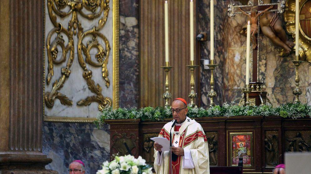 Foto: El cardenal Juan José Omella, arzobispo de Barcelona, oficia la misa solemne en la festividad de la Mare de Déu de la Mercè (Efe)