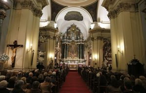 Alfonso Díez acude al funeral por Fabiola de Bélgica en Madrid