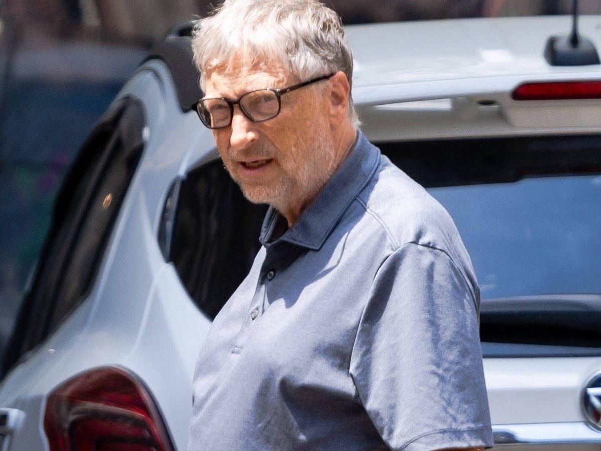 Foto: Bill Gates, con la alianza de casado. (Contact Press)