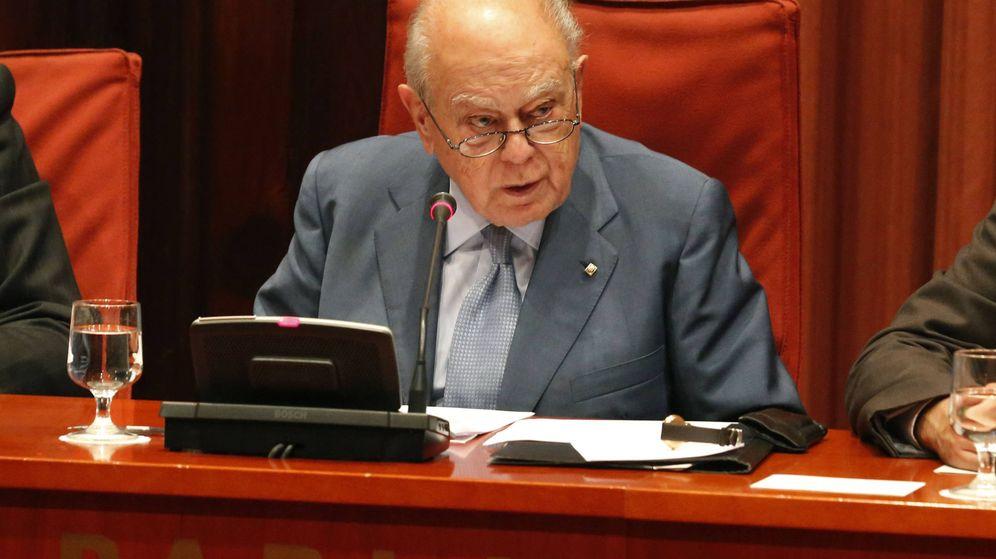 Foto: Jordi Pujol en el Parlamento. (Reuters)
