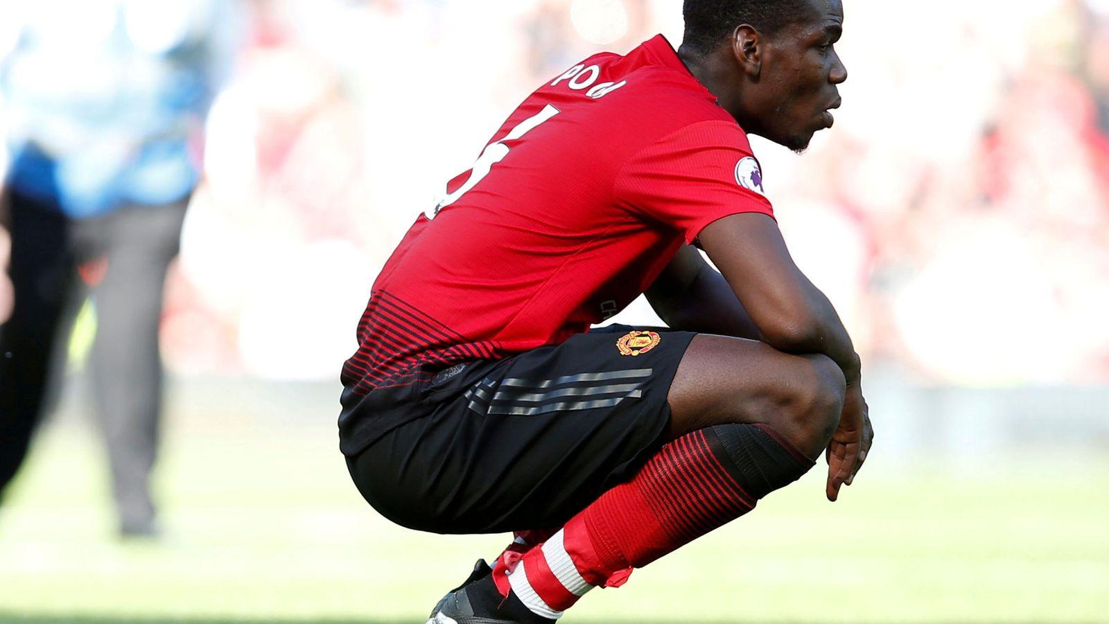 Foto: Pogba en un partido contra el Cardiff la pasada campaña. (EFE)