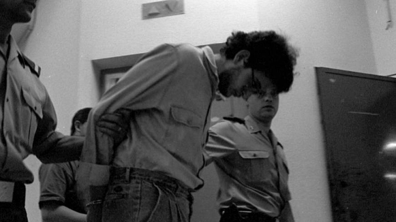 Javier Rosado, detenido por el crimen del juego de rol, en una imagen de 1994.